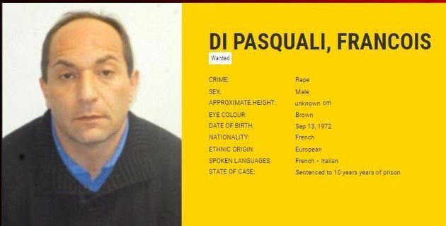 La photo de François di Pasquali diffusé par