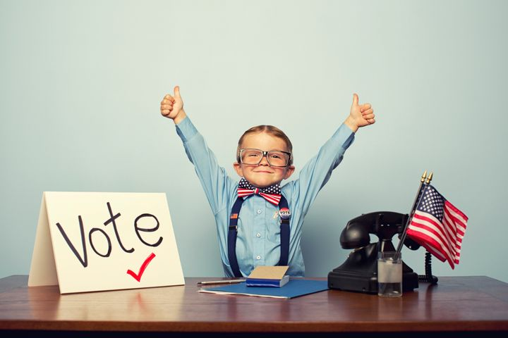 There are developmentally appropriate ways to talk to children about the democratic process.