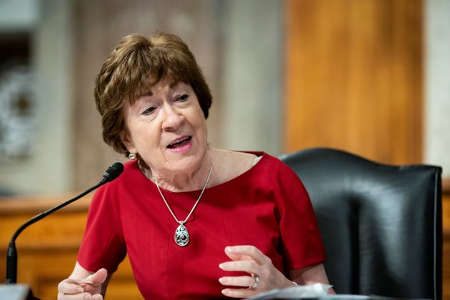 Senator Susan Collins from Maine was the only Republican to vote no.