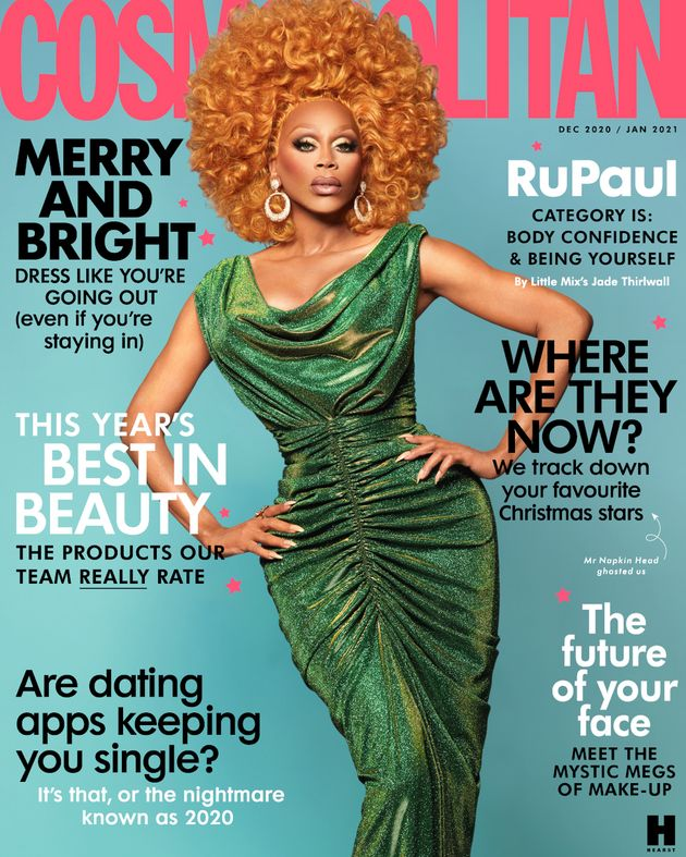 RuPaul on the cover of Cosmpolitan