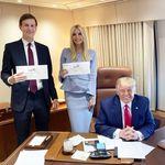 Cette photo des Trump qui votent vaut le