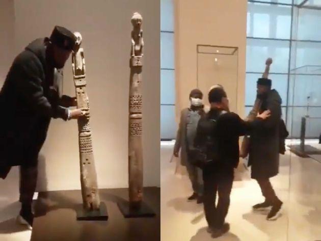 Un activiste tente de dérober une œuvre indonésienne au Musée du Louvre, le 22