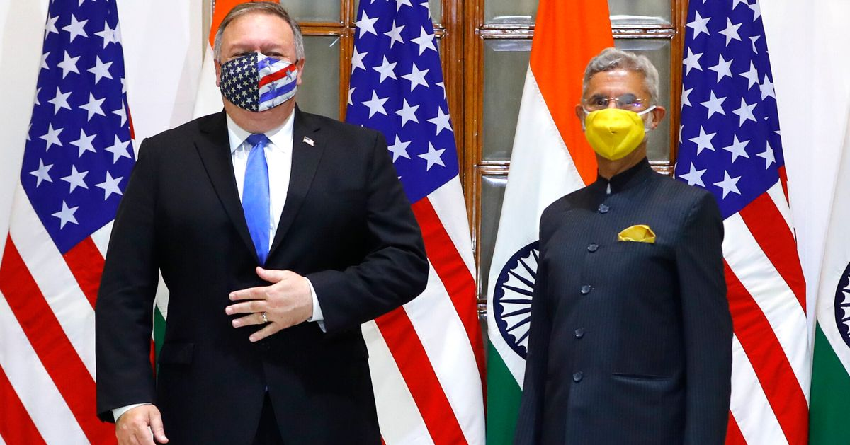 Mike Pompeo Warns Of China Threat During India Visit, Beijing Hits Back