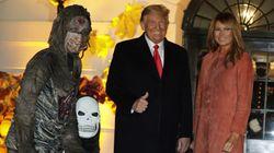 Hemos analizado las fotos de la fiesta de Halloween de Donald y Melania Trump y dan verdadero