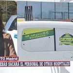 Esta imagen de Ayuso en laSexta da mucho que hablar: la empresa de la furgoneta aclara la