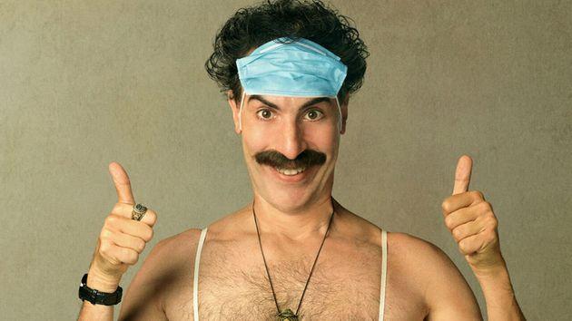 Le personnage de Borat incarné par Sasha Baron Cohen dans