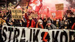 Quinto día de protestas en Polonia contra la prohibición casi total del