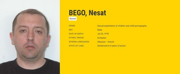 Ficha de Bego