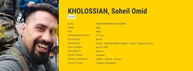 Ficha de Soheil Omid