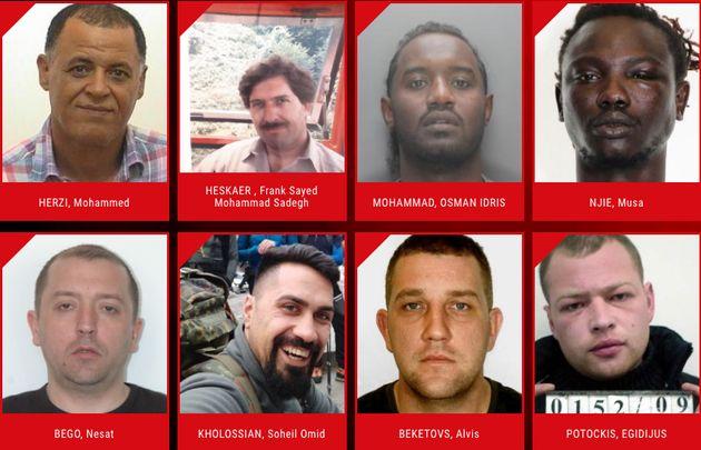 Europol busca a violadores más