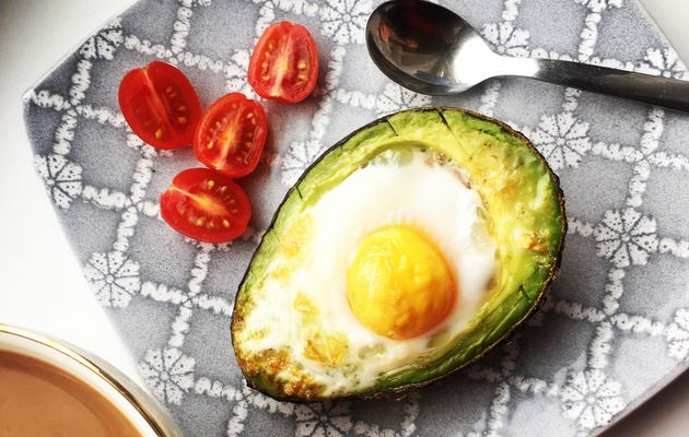 Avocados and eggs are two foods experts say may help ease anxiety. Combine them in avocado egg boats.