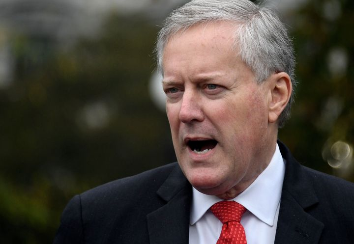 White House chief of staff Mark Meadows made a startling comment on a weekend talk show about the Trump administration's appr