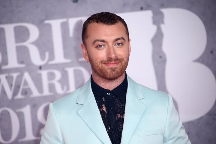 """Sam Smith said their hair had been a """"touchy place"""" before getting the surgery."""