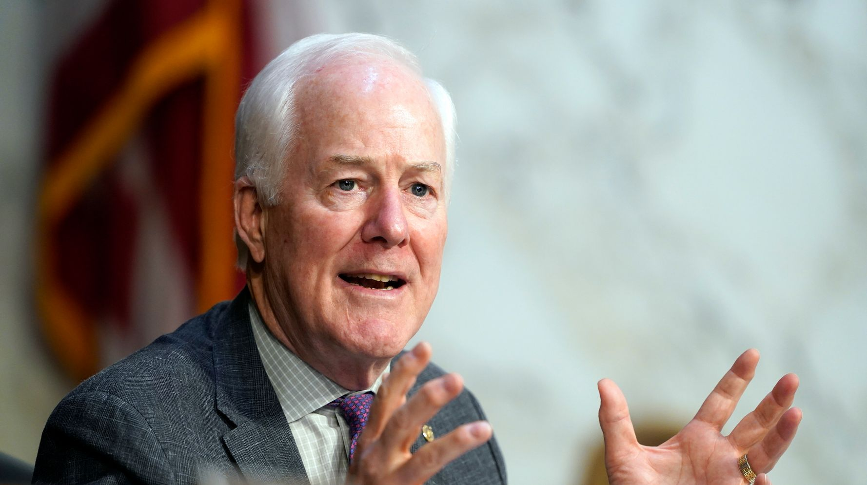 John Cornyn Hangs On To Beat M.J. Hegar In Texas Senate Race