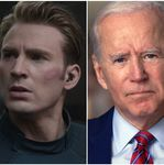 Footage Of Joe Biden Set To Captain America Speech Goes
