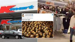 Twitter Is Divided As Crowds Flock To Melbourne Kmart Stores After COVID-19 Rules
