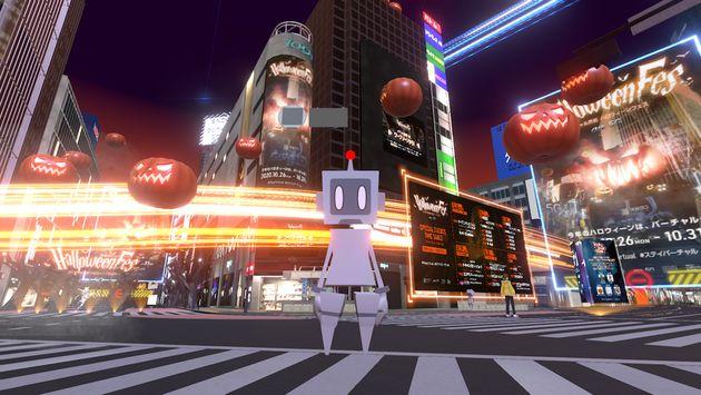 「バーチャル渋谷ハロウィーンフェス」より