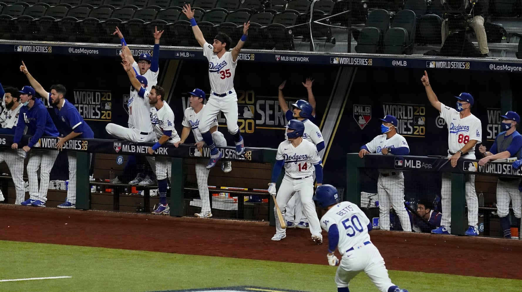 Los Angeles Dodgers Win 2020 World Series