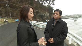 岩手少女殺害事件の取材で黒木さんと(2010年)