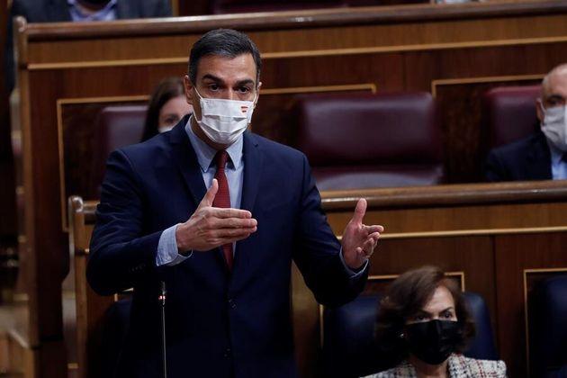 El presidente del Gobierno, Pedro Sánchez, este miércoles 28 de octubre en el