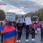 Une manif' pro-Arménie bloque l'autoroute A7 et dégénère, au moins un