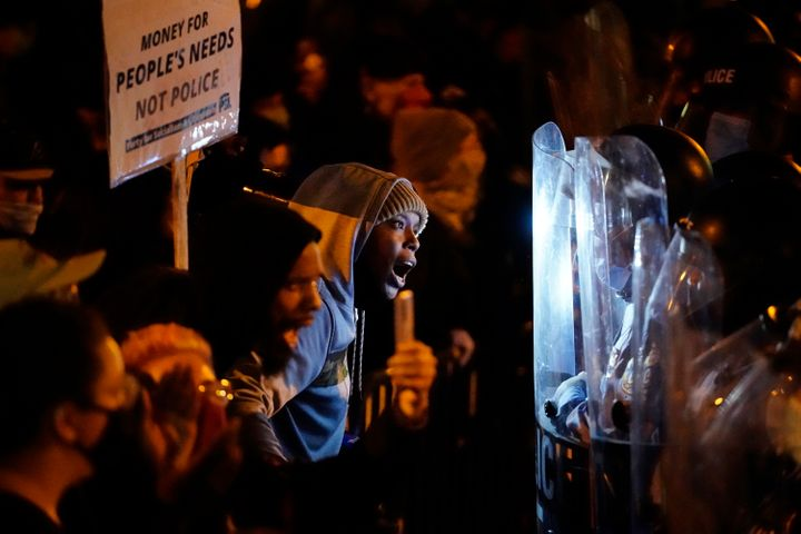 Hundreds of demonstrators marched Tuesday in West Philadelphia over the death of Walter Wallace, a Black man who was killed b