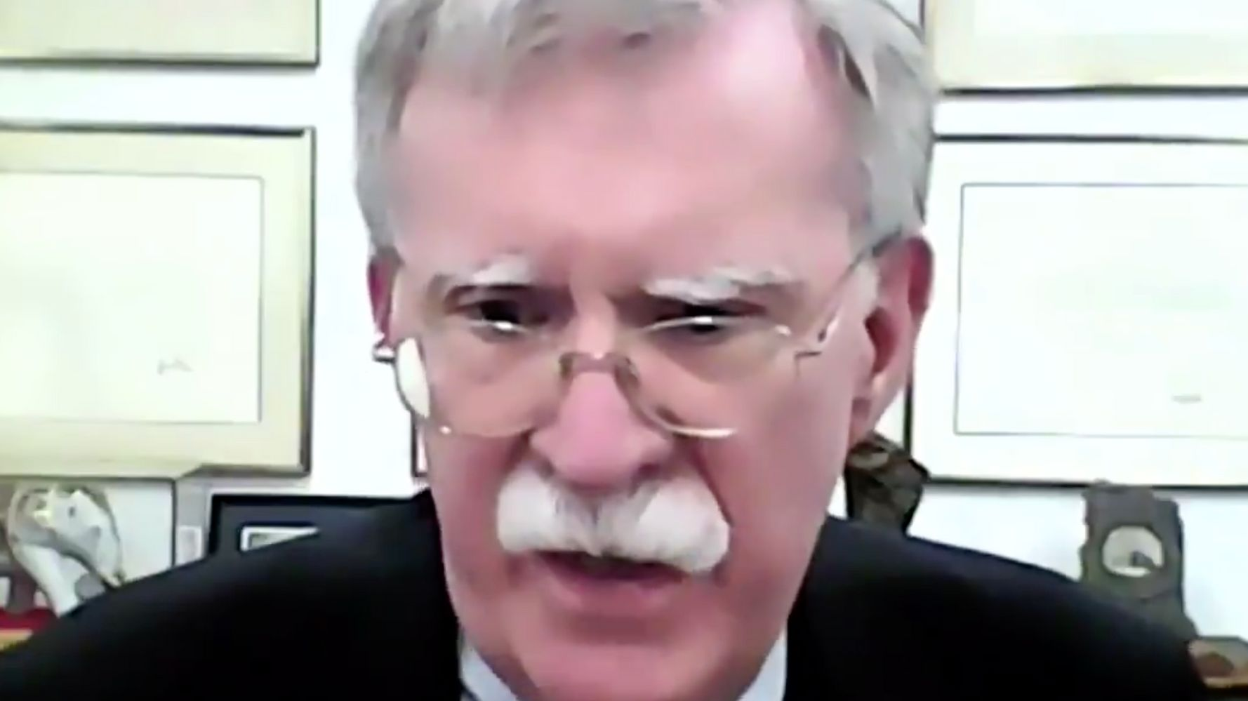 BBC Anchor Clashes With John Bolton In Tense Interview About Trump's Impeachment Trial