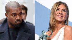 Jennifer Aniston pide no votar a Kanye West y él la ataca donde más