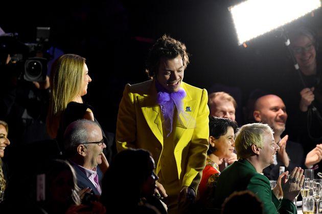 Harry wearing a