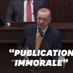 Erdogan s'en prend aux