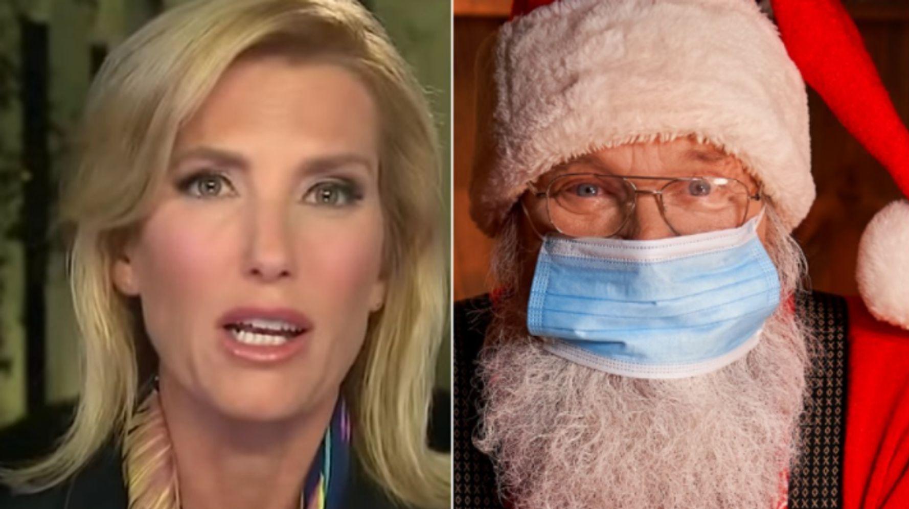 Laura Ingraham Turns To Santa In Latest Scaremongering About Joe Biden
