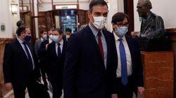 El PSOE acepta que Sánchez explique el estado de alarma cada dos