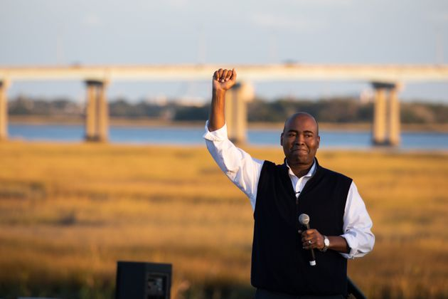 Democratic Senate candidate Jaime Harrison broke records for the most money raised by a Senate candidate...