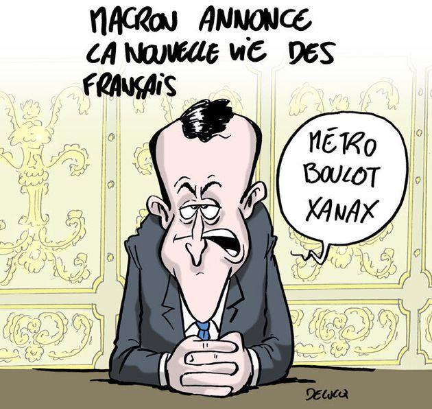 Reconfinement: on connaît le résumé des annonces de Macron | Le HuffPost
