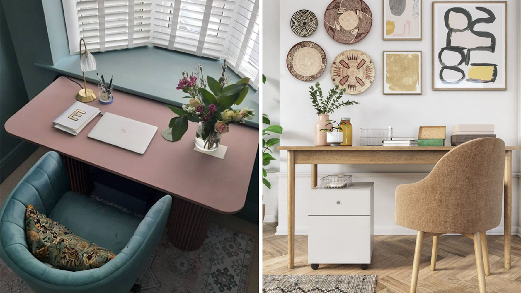 8 Dreamy Work From Home Set-Ups To Inspire Your Desk Space