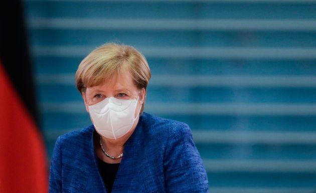 La chancelière allemande Angela Merkel, ici à Berlin le 21 octobre, a annoncé de...