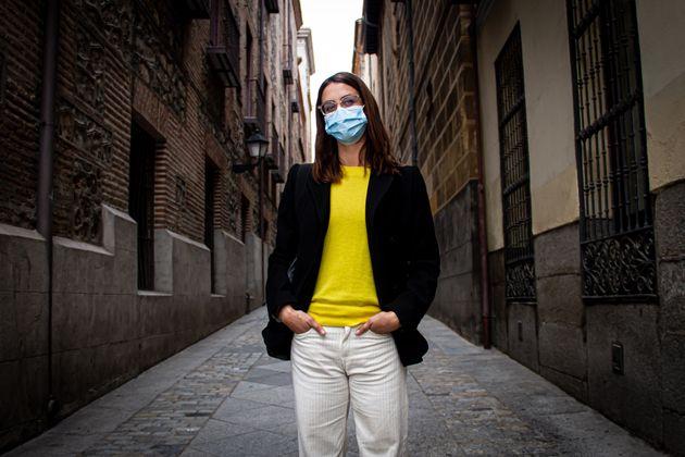 Rita Maestre, en la calle del