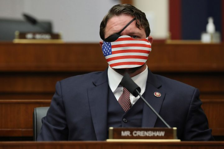 Rep. Dan Crenshaw, R-Texas, is being challenged by former Beto O'Rourke adviser Sima Ladjevardian.