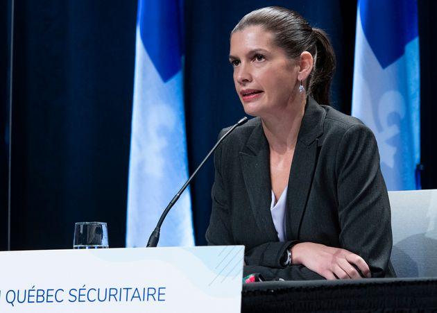 Selon Geneviève Guilbault, l'opposition libérale doit être dénoncée...