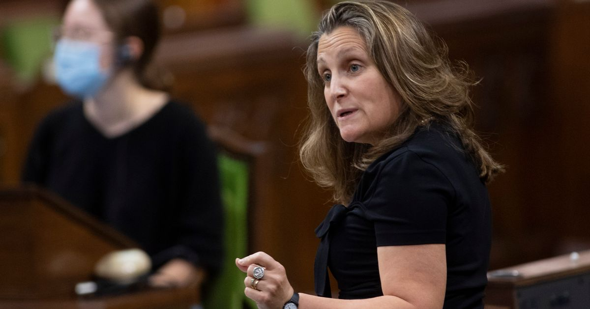 Deficits Matter And Federal Aid Programs Won't Last Forever: Freeland