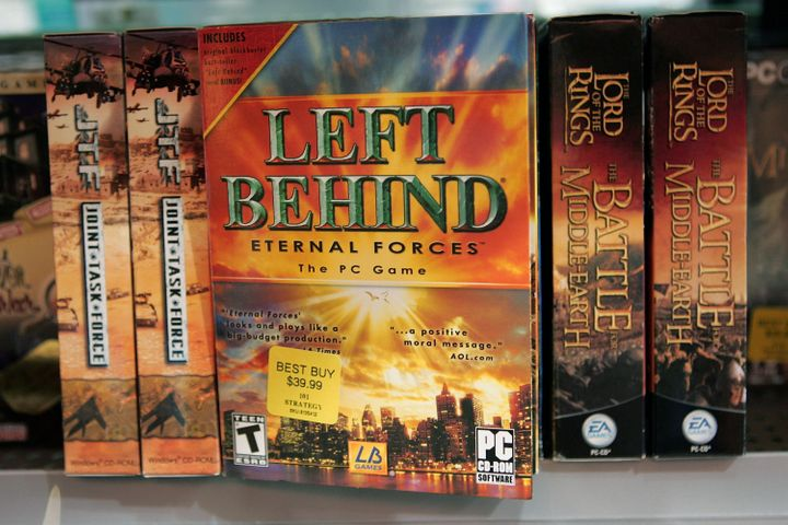 "Copies of ""Left Behind: Eternal Forces"" video games, which are based on a popular series of Christian novels about the apocal"