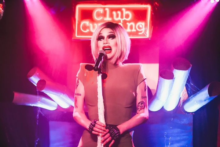 """""""I've always been attracted to the dark, magical, campy aspects of the world,"""" said """"RuPaul's Drag Ra"""