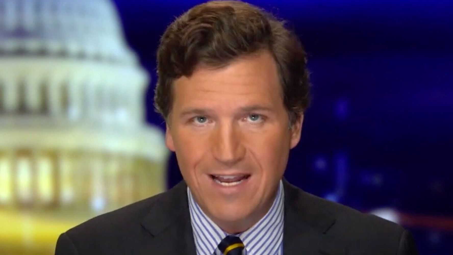 Tucker Carlson's Conspiracy Theory Falls Apart In The Weirdest Way Possible