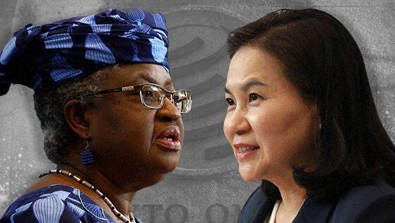 나이지리아 재무부 장관 오콘조이웨알라과 한국 산업통상자원부 통상교섭본부장