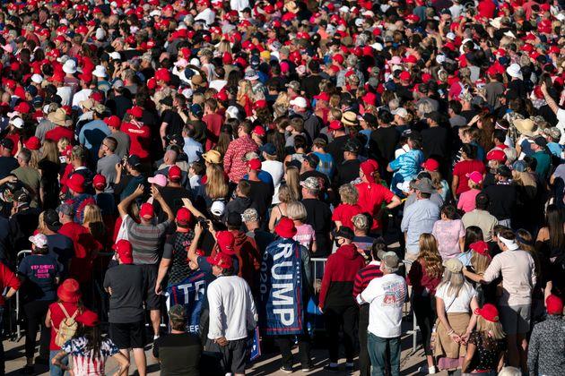 アリゾナ州グッドイヤーで開催されたトランプ陣営の集会(2020年10月28日)