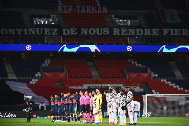 À l'image de ce PSG-Manchester du 21 octobre, le sport professionnel pourra continuer à être pratiqué...
