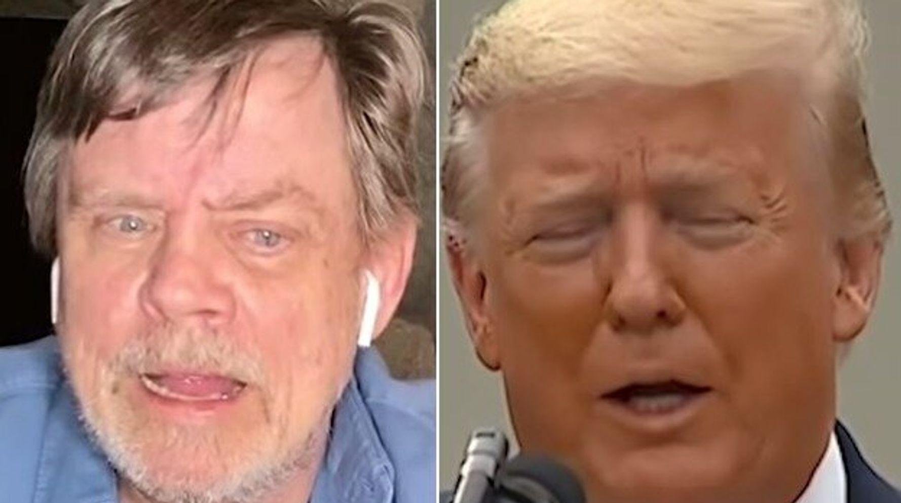 Mark Hamill Shows Why Trump's The 'Worst President Ever' In New Biden Video