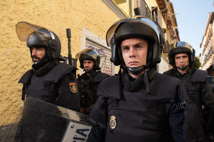 Imagen de la serie 'Antidisturbios' de Rodrigo Sorogoyen.