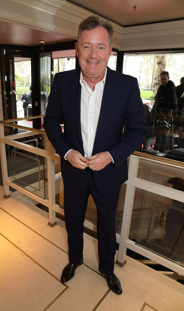 Piers Morgan at the TRIC Awards in March