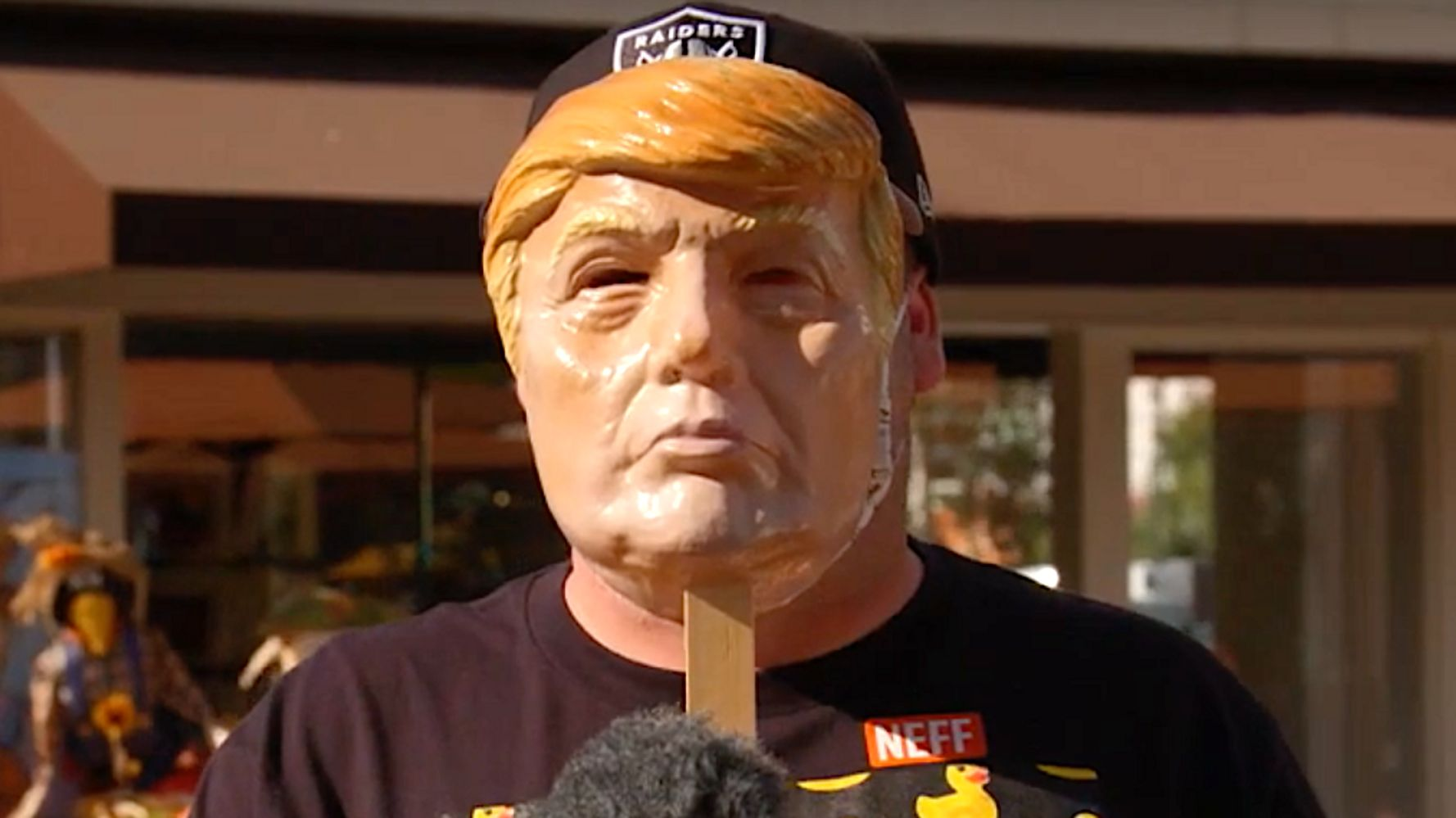 Masked Voters Tell Trump-Supporting Family And Friends How They Really Feel On 'Kimmel'